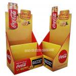 Coca Cola Paper Display Shelves