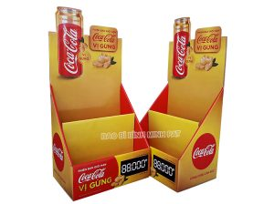 Coca Cola Paper Display Stand- img 01