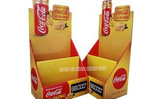 Coca Cola Paper Display Shelves - img 01
