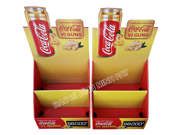 Coca Cola Paper Display Shelves - img 04