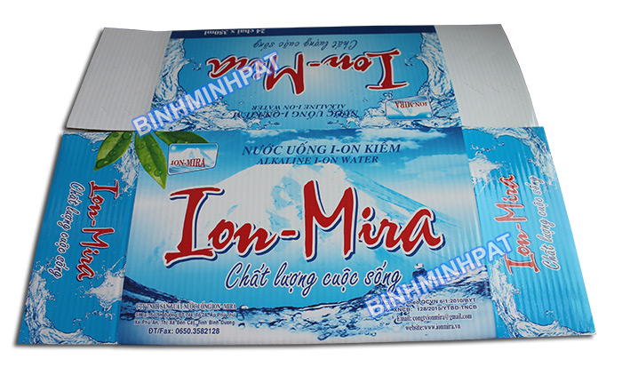 Mineral Water Bottle packaging carton box -img5