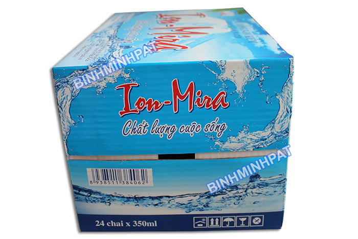 Mineral Water Bottle packaging carton box