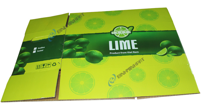 Corrugated Lime Packaging Box -img 05