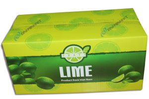 Corrugated Lime Packaging Box