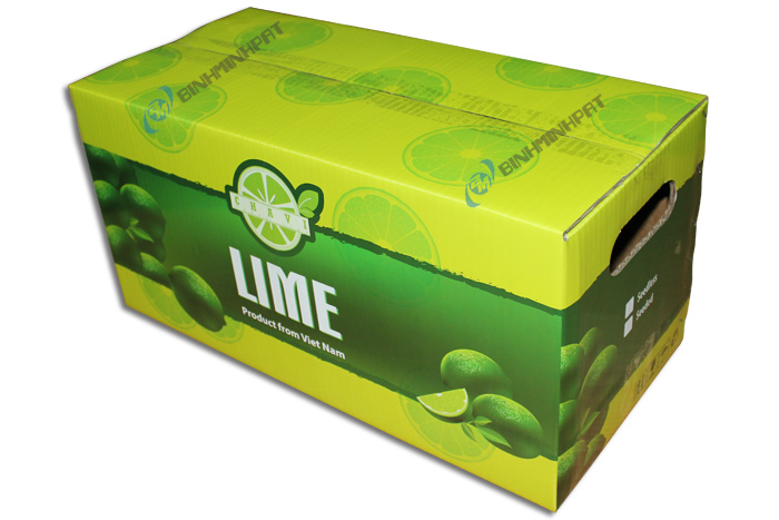 Corrugated Lime Packaging Box -img 03