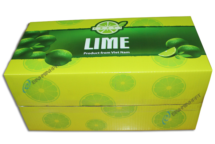 Corrugated Lime Packaging Box -img 02