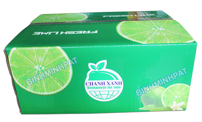 Corrugated Lemon Packaging Box
