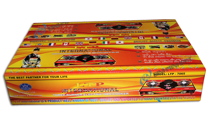 Gas Stove Printed Box – Gas Stove Packaging Box