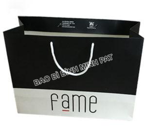 Custom bag ivory paper clothing packaging bag paper - img 01