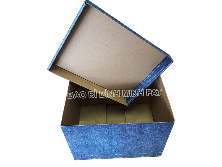Fashionable luxury custom paper clothing jean packaging box - img03