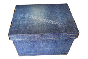 Fashionable luxury custom paper clothing jean packaging box - img04