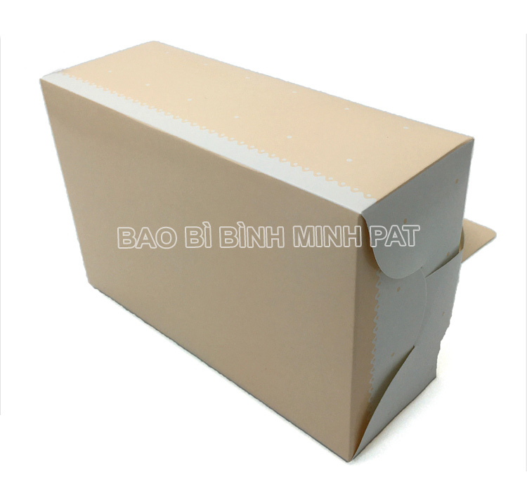 Mini cake box packaging paper box with handle - image05
