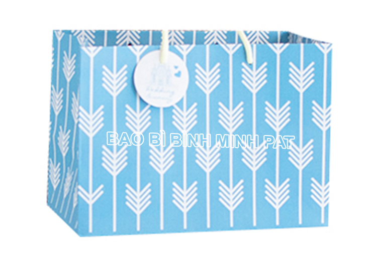 Exclusive bag for gift wedding cotton rope paper bag of gifts