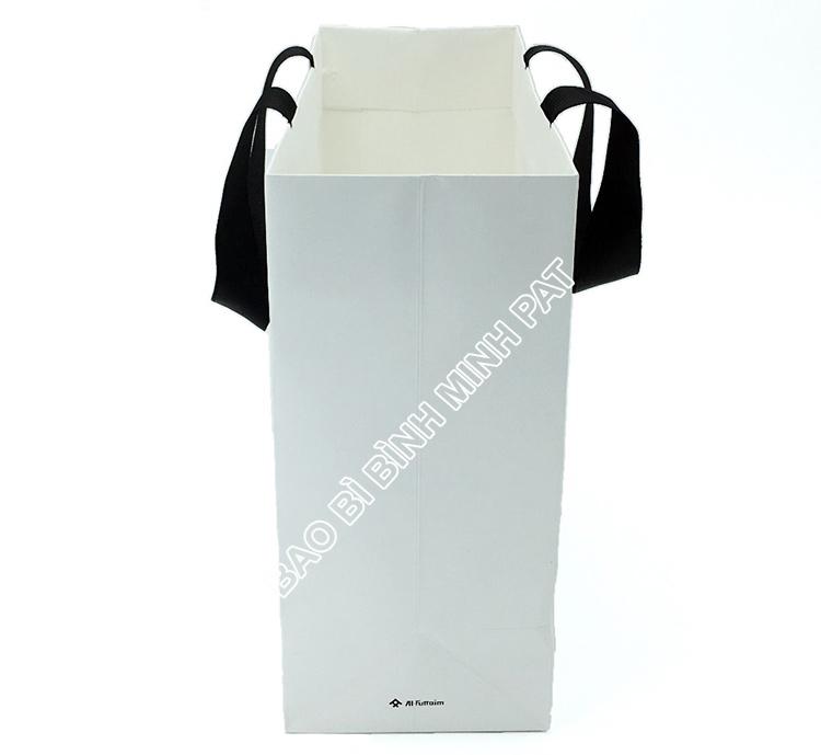 Festival brand custom logo shopping bag paper handle bags - img03