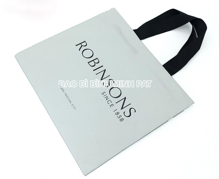 Festival brand custom logo shopping bag paper handle bags - img04