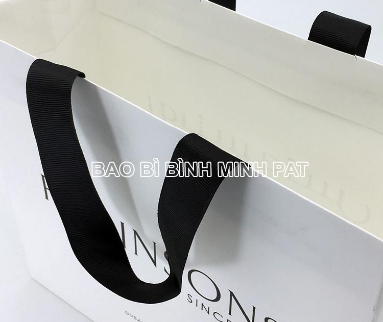 Festival brand custom logo shopping bag paper handle bags - img05
