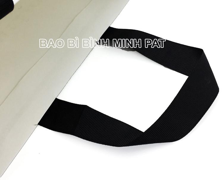 Festival brand custom logo shopping bag paper handle bags - img06