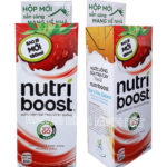 Cardboard Promotional Retail Dump Bin for Nutri Boost