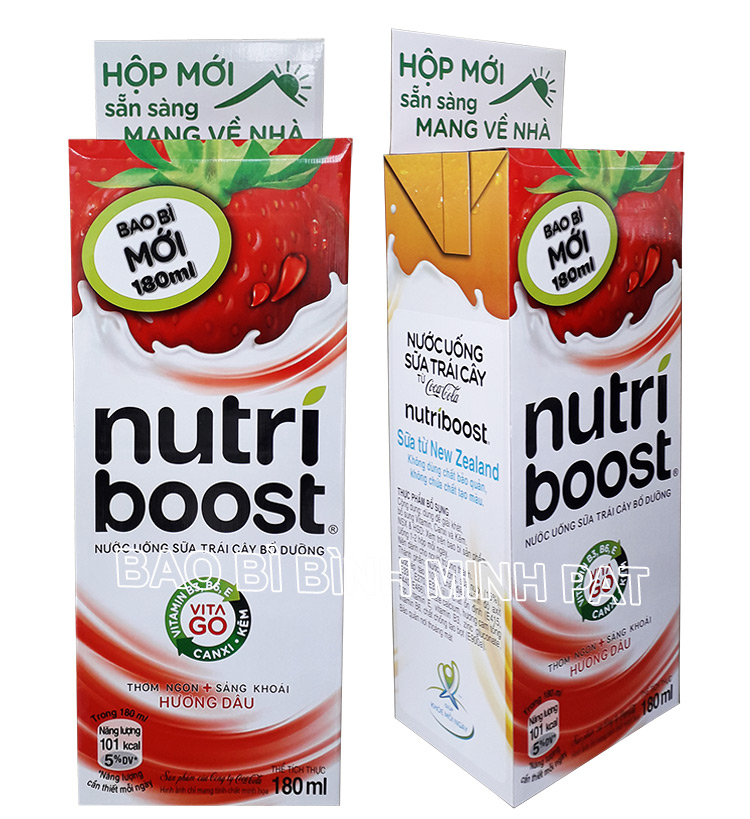 Cardboard Promotional Retail Dump Bin for Nutri Boost