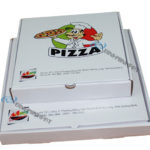Custom size paper pizza box for food packaging