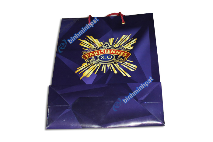 Manufacturer custom made luxury cheap paper wine bags - img06