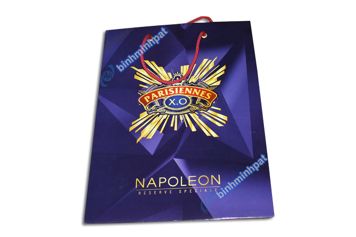 Manufacturer custom made luxury cheap paper wine bags - img05