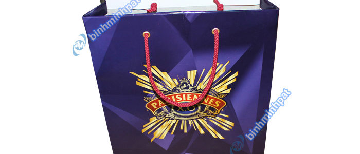 Manufacturer custom made luxury cheap paper wine bags - img04