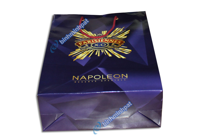 Manufacturer custom made luxury cheap paper wine bags - img03