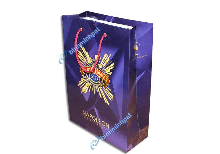 Manufacturer custom made luxury cheap paper wine bags - img02