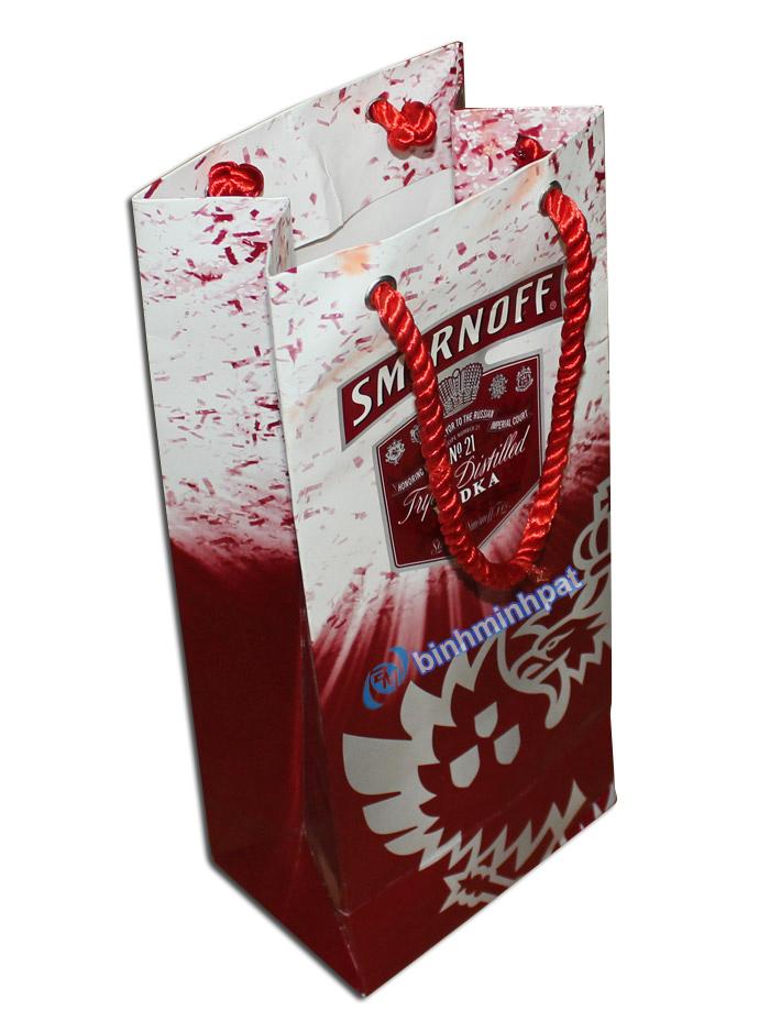 Wine gift bag with handles - img03