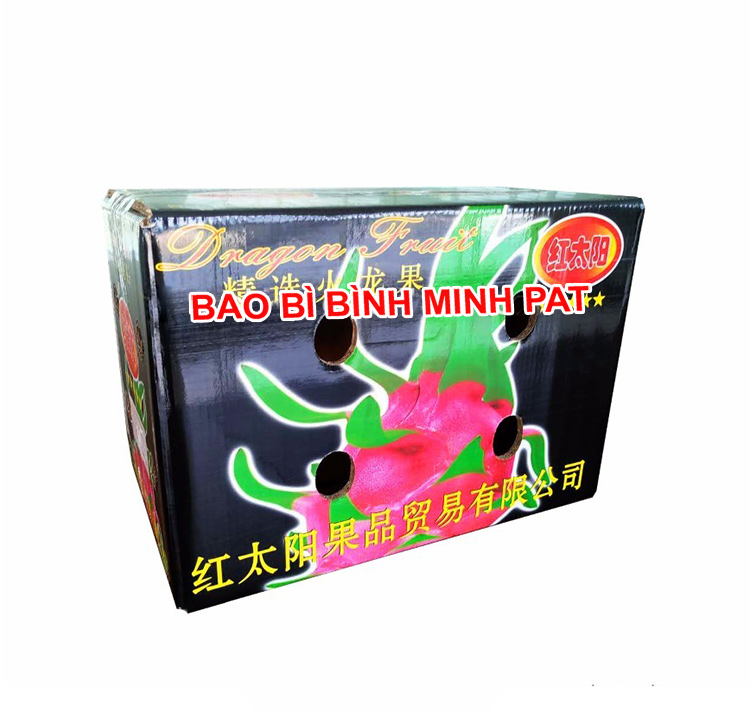 Vietnam Fresh Dragon Fruit Packaging Carton Box - IMG04