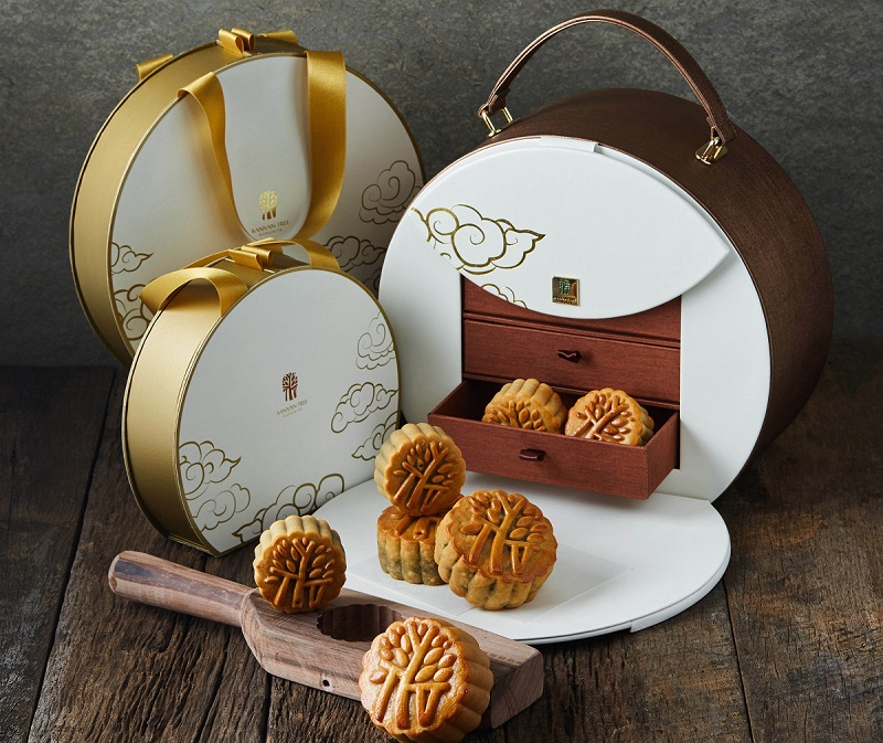 Creative Mooncake Paper Boxes